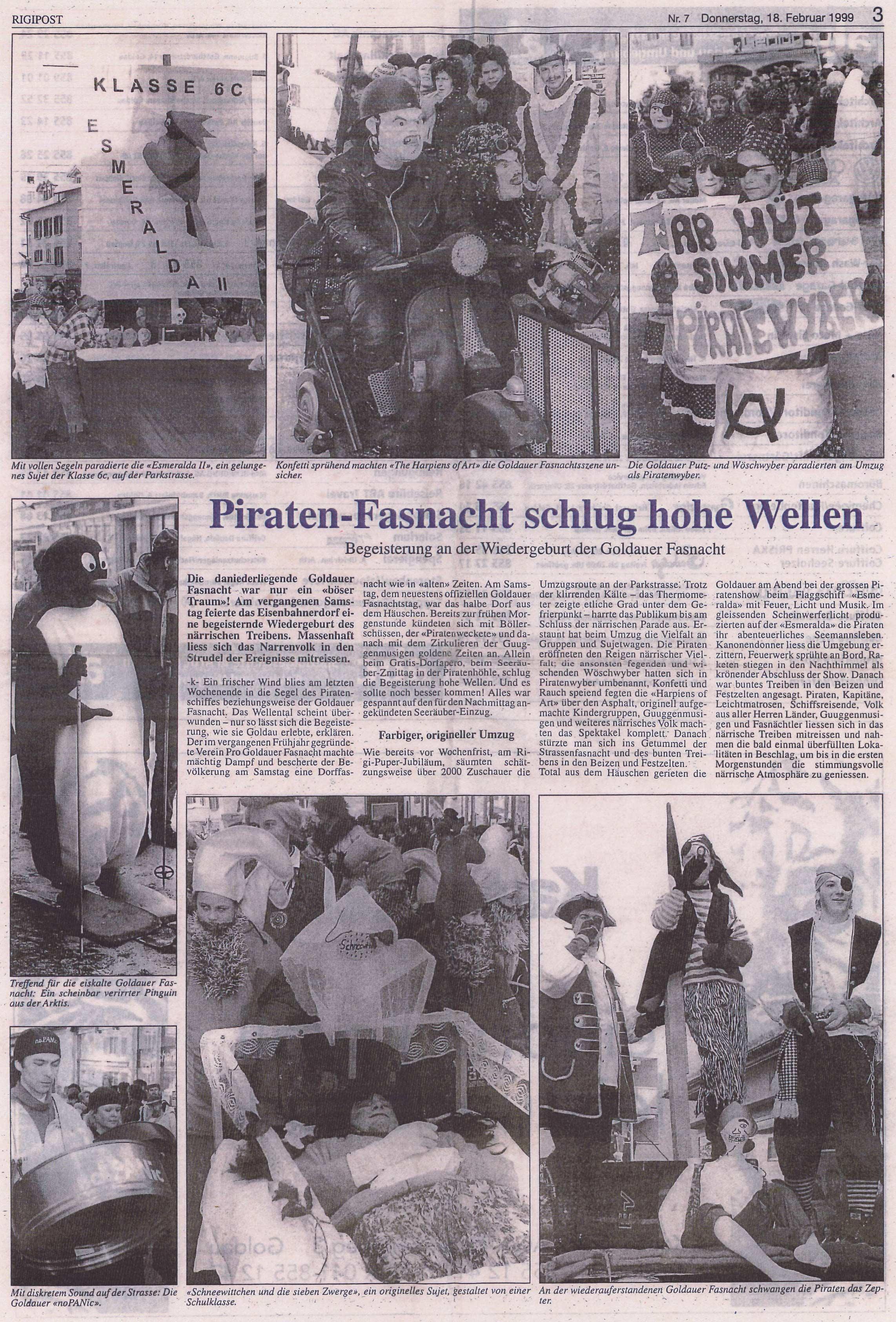 RP 1999 Piratenfasnacht