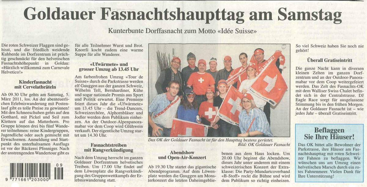 fasnachtshaupttag